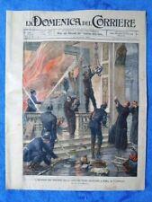 La Domenica del Corriere 14 gennaio 1900 Roma - Sudbahn,Vienna - Lev Tolstoj