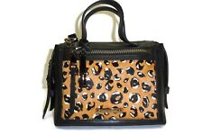 Fossil Bella Small Satchel, Cheetah, One Size
