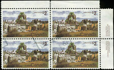 Canada Scott #601 Plate Block of 4 Used  Plate #2