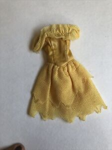 Yellow Encore Dress fashion DRESS ONLY Jem and the Holograms Hasbro 1986