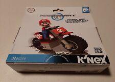 K'Nex Mario Kart Wii Mario And Standard Bike Building Set 31pc Brand New Sealed