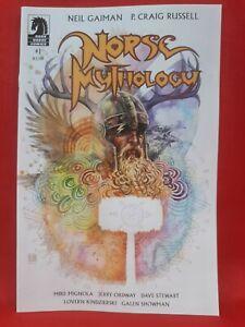 Norse Mythology #1- Neil Gaiman, CVR B Mack Variant, Dark Horse 2020, VF/NM!