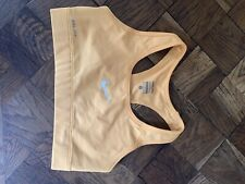 Nike Pro Sports Bra Yellow Size Small