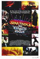 STAR TREK 2: THE WRATH OF KHAN Movie POSTER 27x40 Leonard Nemoy