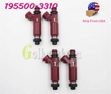 OEM SET OF 4 FUEL INJECTORS NOZZLE FOR MAZDA MIATA 1999-2000 1.8L-L4 195500-3310