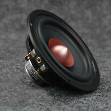 "4 ""Zoll Breitbandlautsprecher HiFi Home Audio Runder Lautsprecher 8Ω"