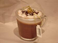 Sur La Table Glass Hot Chocolate Mug Ornament Made In Poland