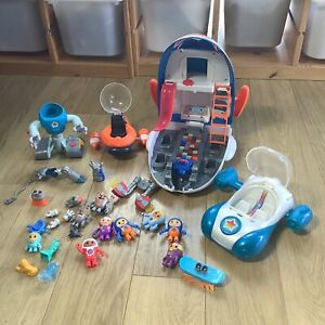 Go-Jetters Toy Bundle - 28 Pieces - Characters, HQ, Jet Pad, Vroomster, Grimbler