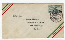 MEXICO: 1929 Air Mail postal stationery envelope to USA (C44926)
