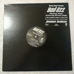 "Bad Azz featuring Snoop Dogg ""Wrong Idea"" (12"" Vinyl)"