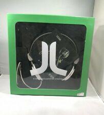 WESC Bongo e-8.4 On Ear Headphones White Black & Blue Unisex Brand New In Box