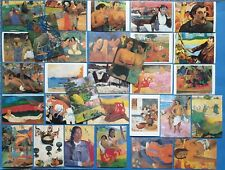 Set of 30 Unused Art Postcards, by Paul Gauguin