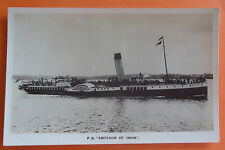Indian Collectable Steam Ship Postcards