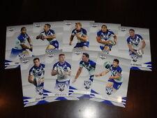 2013 NRL ELITE TEAM SET OF 9 CARDS BULLDOGS