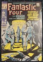 FANTASTIC FOUR 87  Very Good Plus Condition Marvel Comic 1969 FREE Bag & Board