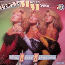 ++THE STAR SISTERS a tribute to marilyn monroe/hawaiian summer SP 1984 VG++