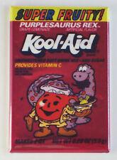 Purplesaurus Rex FRIDGE MAGNET (2 x 3 inches) purple kool aid 80's packet sign