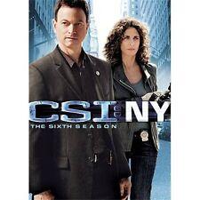 CSI: NY - The Sixth Season (DVD, 2010, 7-Disc Set)