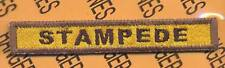 """794th Armored """"STAMPEDE"""" TANK TAB patch"""