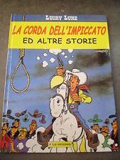 LUCKY LUKE LA CORDA DELL'IMPICCATO - ED. LO VECCHIO - VOLUME CARTONATO - 1999