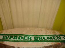 """Werder Bremen Fan Schal Erfolge """"Deutscher Meister,Liga Pokal,DFB-Pokal,..."""" TOP"""