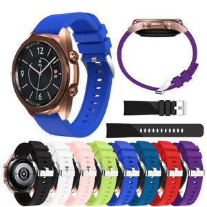 For Samsung Galaxy Watch 3 41mm Silicone Sport Replacement Wrist Band Soft Strap