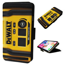 Dewalt Power Tools - Flip Phone Case Wallet Cover Fits Iphone & Samsung