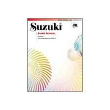 Suzuki Piano School New International Edition Piano Book and CD, Volume 1 , 3003