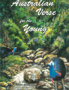 """Australian illustrated Children's Book """"Australian Verse for the Young"""""""