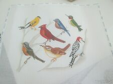 New ListingBirds-Plum Stitchery-Handpainted Needlepoint Canvas
