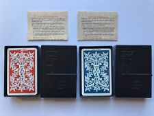 KEM Plastic Playing Cards Sealed Red And Blue Decks Super Index