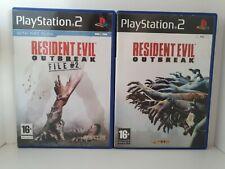 Resident Evil Outbreak Playstation 2 Bundle