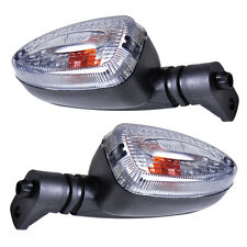 2Pcs Clear Turn Signal Indicator Light Lamp Fit BMW F650GS F800S K1300S R1200R