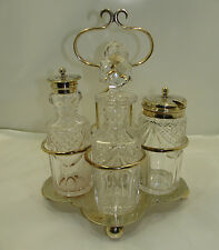 Antiquariato Cruet in argento antico / old silver Sheffield