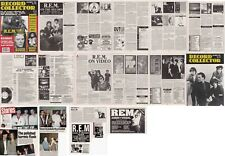 R.E.M. : CUTTINGS COLLECTION -magazine articles- clippings 90s