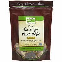 Now Foods Raw Energy Nut Mix Unsalted 16 oz  Kosher, Non-GMO