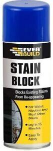 Everbuild Stain Block Spray, 400 ml - Stain Blocker