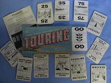 Parker Brothers Automotive Touring Card Game Vintage 1947 Pictures Gas Station +