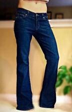 Paige Holly Petite Dark Wash Stretch Premium Denim Flare Leg Jeans Size 32x33
