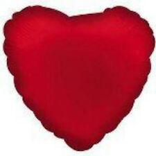 "Red HEART Shaped Valentine's Day 18"" Mylar Balloon"