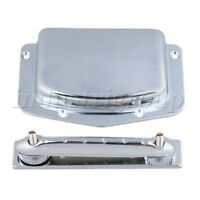 Adjustable Archtop Tailpiece Bridge Cover Plate for 6 String Electric Guitar