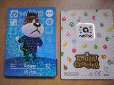 CARTE AMIIBO ANIMAL CROSSING 105 COPPER MARET NEUF Envoi Rapide 3DS SERIE 2
