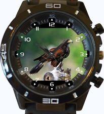 Harris Hawk On Hunt New Gt Series Sports Unisex Wrist Watch
