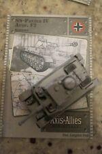 Axis & Allies Miniatures Set II 32 SS-Panzer IV Ausf. F2 R w/Card