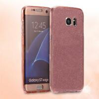 Shockproof 360 Clear Gel Case Cover For Samsung Galaxy A3 A5 2017 J3 J5 S8 S9 +