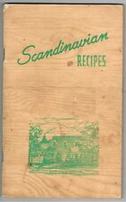 Scandinavian Recipes by Julia Peterson Tufford Vintage 1955 Ethnic Smorgasbord +