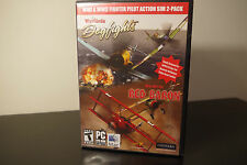 WWI & WWII Fighter Action Pack (PC, 2010) *Warbirds Dogfights & Red Baron