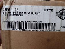 2008 Harley Davidson FLSTF Fat Boy Chrome Front End Package Kit 46501-08 OEM NEW