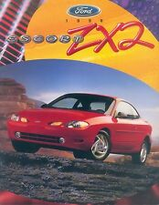 Ford ESCORT zx2 prospectus usa 1998 car brochure voiture voitures autoprospekt brochure