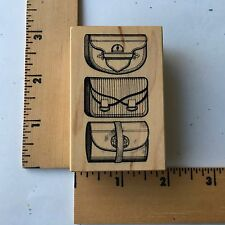 Personal Stamp Exchange PSX - 2003 Rubber Stamp - F-3560 - Purses - NEW